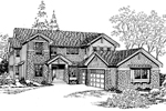 Craftsman House Plan Front Image of House - 071D-0150 | House Plans and More