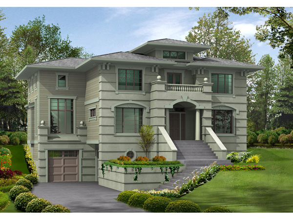 House plans and design modern house plans european