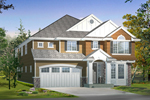 Contemporary House Plan Front of Home - 071D-0169 | House Plans and More