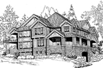 Shingle House Plan Front Image of House - 071D-0192 | House Plans and More