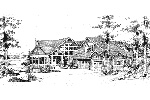 Traditional House Plan Front Image of House - 071D-0204 | House Plans and More