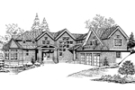 Shingle House Plan Front Image of House - 071D-0211 | House Plans and More