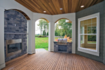 Farmhouse Plan Outdoor Living Photo 01 - 071D-0214 | House Plans and More