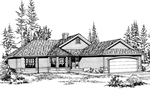 Country Ranch Home Plan