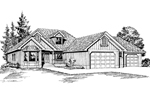 Country House Plan Front Image of House - 071D-0219 | House Plans and More