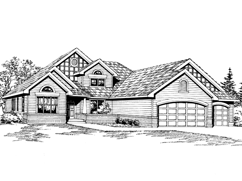Country House Plan Front Image of House - 071D-0226 | House Plans and More