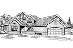 Ranch House Plan Front Image of House - 071D-0226 | House Plans and More