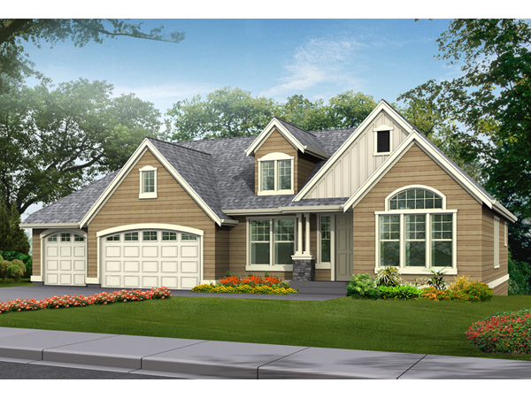 Fox valley craftsman ranch home plan 071d 0230 house for Craftsman style ranch house