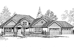 Luxury House Plan Front Image of House - 071D-0237 | House Plans and More