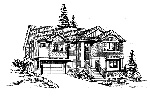 Shingle House Plan Front Image of House - 071D-0240 | House Plans and More