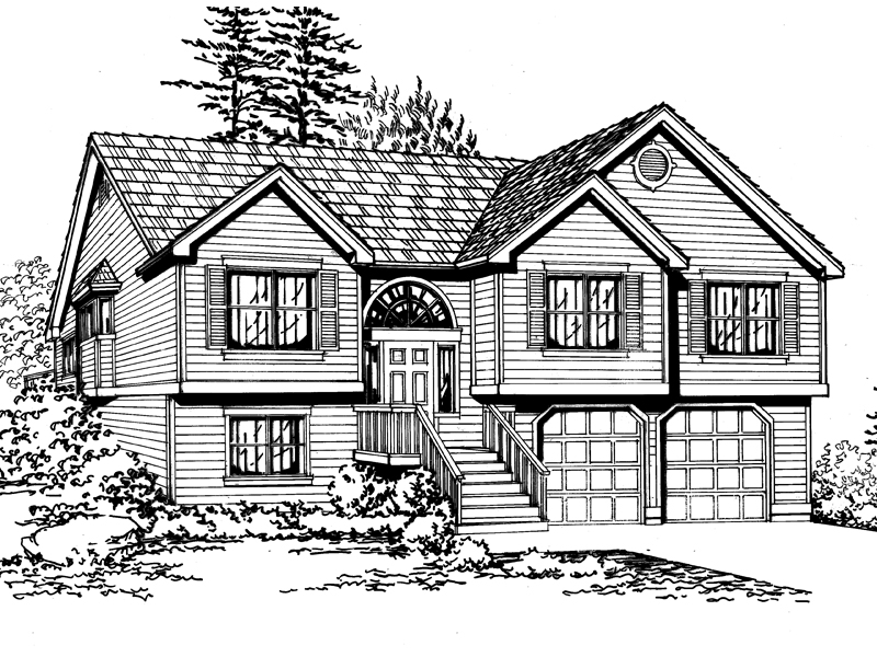 Traditional House Plan Front Image of House - 071D-0241 | House Plans and More