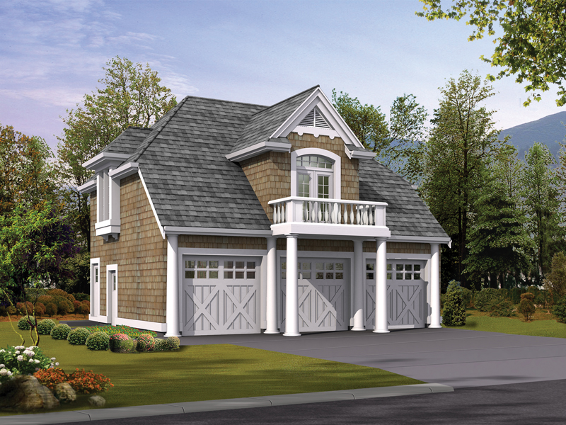 Lida apartment garage plan 071d 0246 house plans and more Small house plans with 3 car garage
