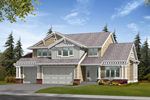 Bungalow Style Craftsman Plan