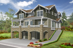 Raised Craftsman Style House Has Many Levels Of Living