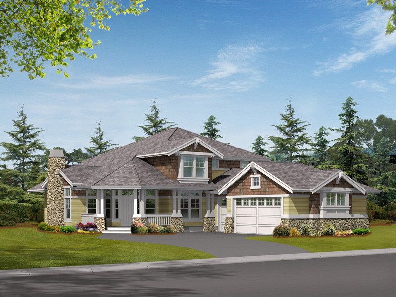 Big Home With Craftsman Inspired Exterior