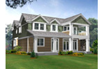 Waterfront House Plan Color Image of House - 071D-0250 | House Plans and More