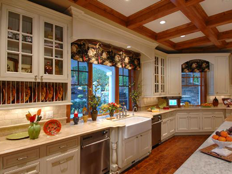 Traditional House Plan Kitchen Photo 01 - 071S-0001 | House Plans and More