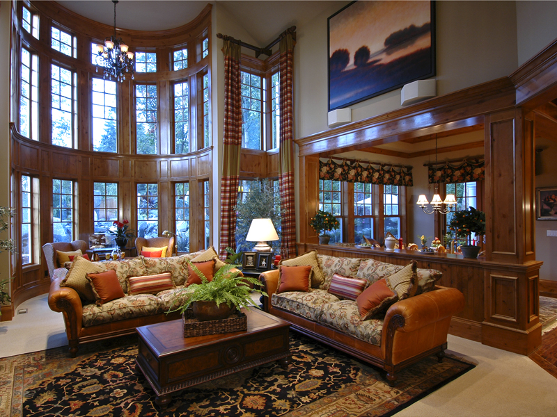 Traditional House Plan Living Room Photo 01 071S-0001