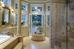 Luxury House Plan Master Bathroom Photo 02 - 071S-0001 | House Plans and More