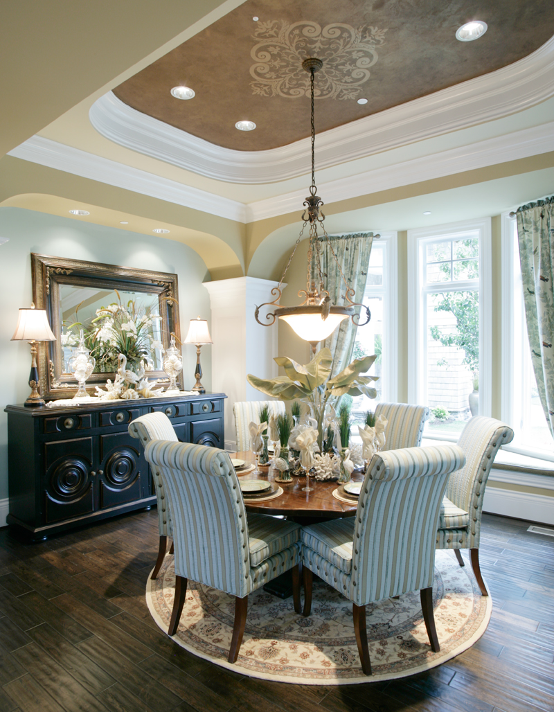 Luxury House Plan Dining Room Photo 01 071S-0002