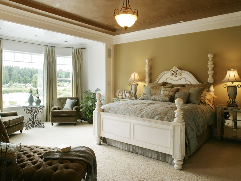 Luxury House Plan Master Bedroom Photo 01 071S-0002