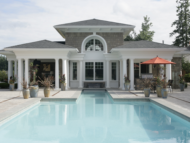 Traditional House Plan Pool Photo 071S-0002