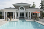 Luxury House Plan Pool Photo - 071S-0002 | House Plans and More