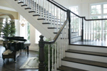 Luxury House Plan Stairs Photo - 071S-0002 | House Plans and More