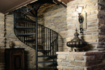 Luxury House Plan Stairs Photo 01 - 071S-0002 | House Plans and More