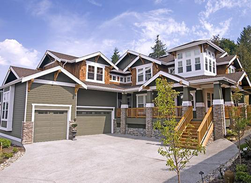 20 large craftsman style homes ideas home building plans