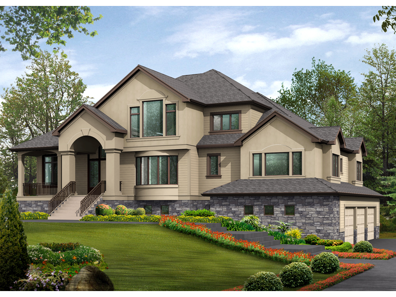 Gardencrest rustic home plan 071s 0034 house plans and more for Rustic luxury house plans