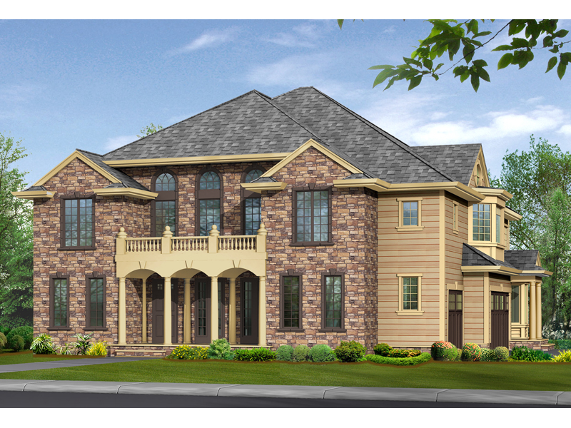 Wenlock European Home Plan 071S-0035 | House Plans and More