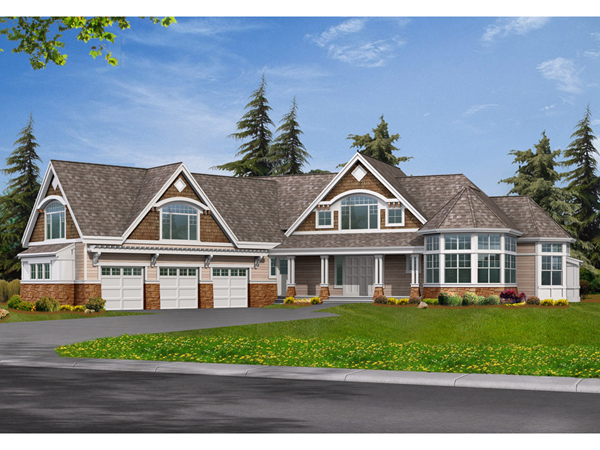 Hickory Point Craftsman Home Plan 071s 0041 House Plans