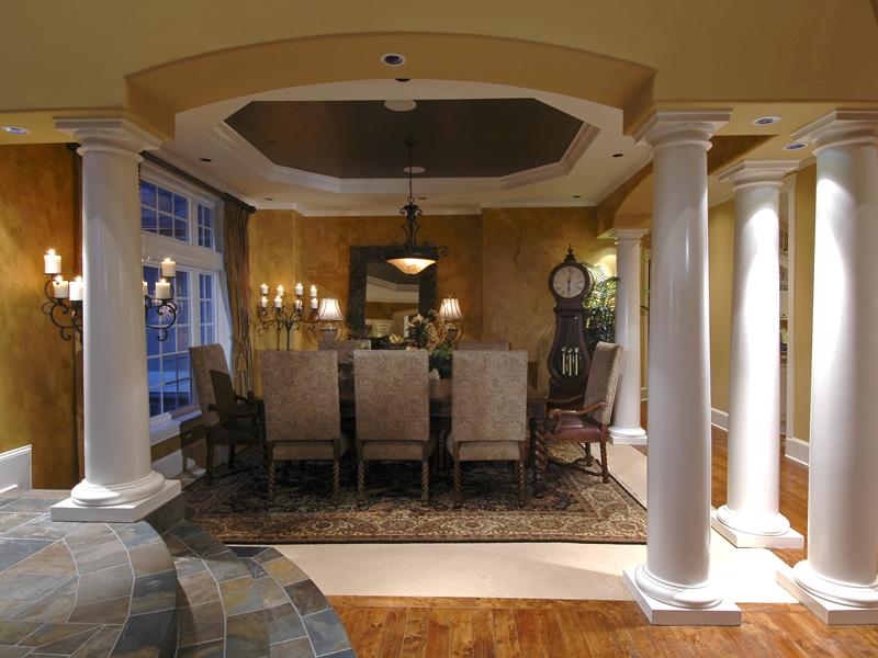 Luxury House Plan Dining Room Photo 02 071S 0051