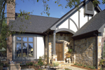 Tudor House Plan Front Photo 01 - 072D-0002 | House Plans and More