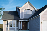 Traditional House Plan Front Photo 01 - 072D-0008 | House Plans and More