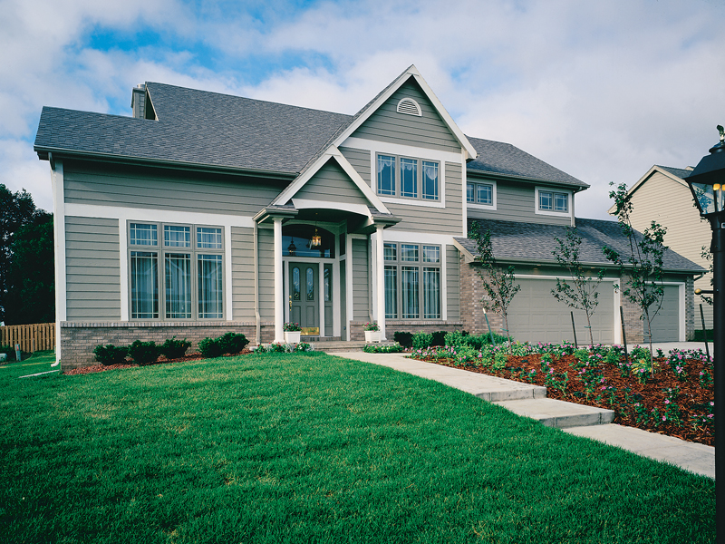 Craftsman House Plan Front of Home 072D-0031