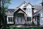 Modern House Plan Front Photo 01 - 072D-0033 | House Plans and More