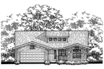 Ranch House Has Shingle Siding And Bungalow Style
