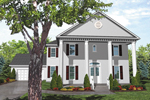 Luxury House Has Colonial Plantation Influence