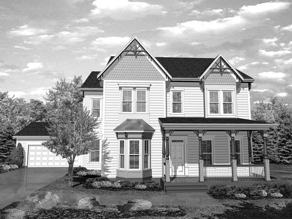 Pepper Lake Victorian Farmhouse Plan 072D 0048