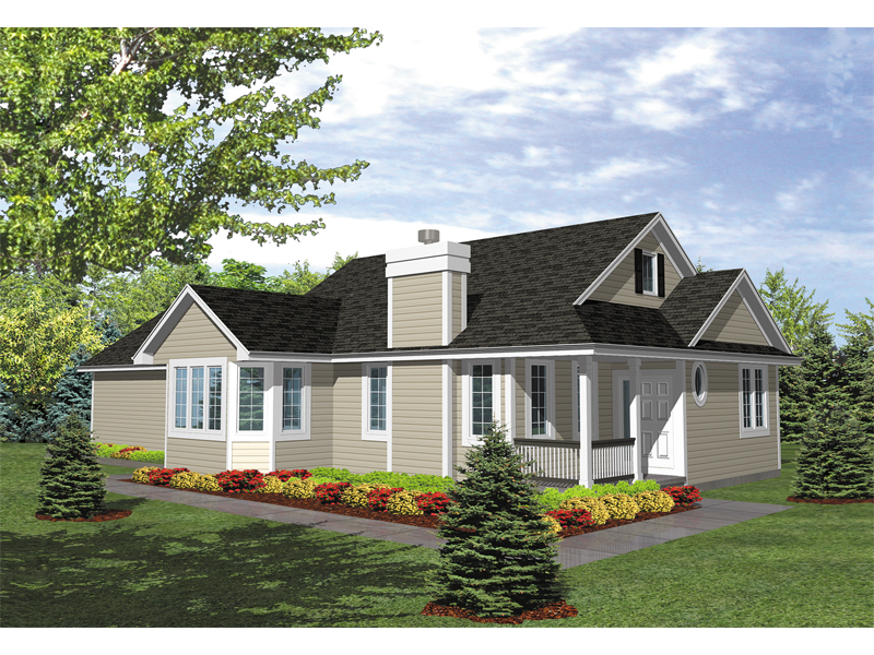 Easy-To-Build Style With Simple Siding Exterior