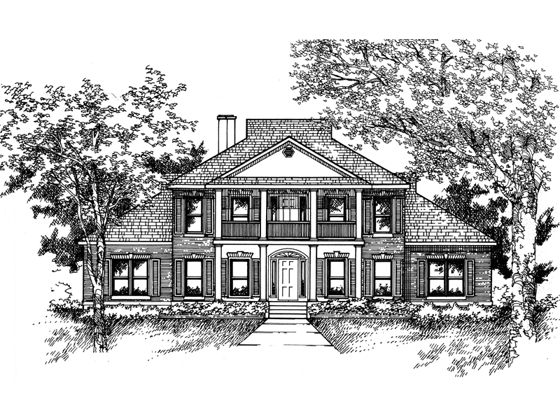Meghan Southern Plantation Plan 072D-0074 | House Plans ...