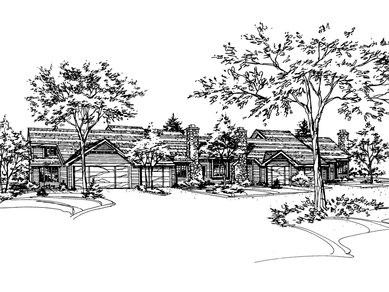 Southern House Plan Front of Home - 072D-0146 | House Plans and More