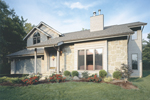 Craftsman House Plan Front of Home - 072D-0148 | House Plans and More