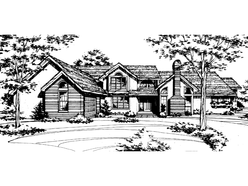 Southern House Plan Front of Home - 072D-0155 | House Plans and More