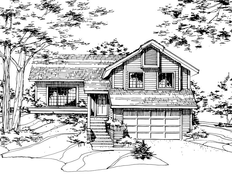 Lowcountry Home Plan Front of Home - 072D-0173 | House Plans and More