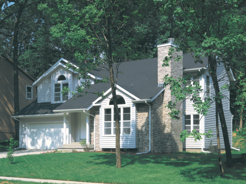 Traditional House Plan Front of Home - 072D-0176 | House Plans and More