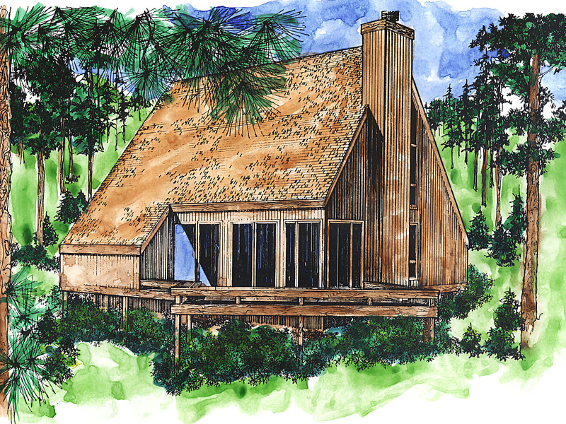 Comfortable A-Frame Home