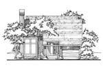 Simple Narrow Lot Design